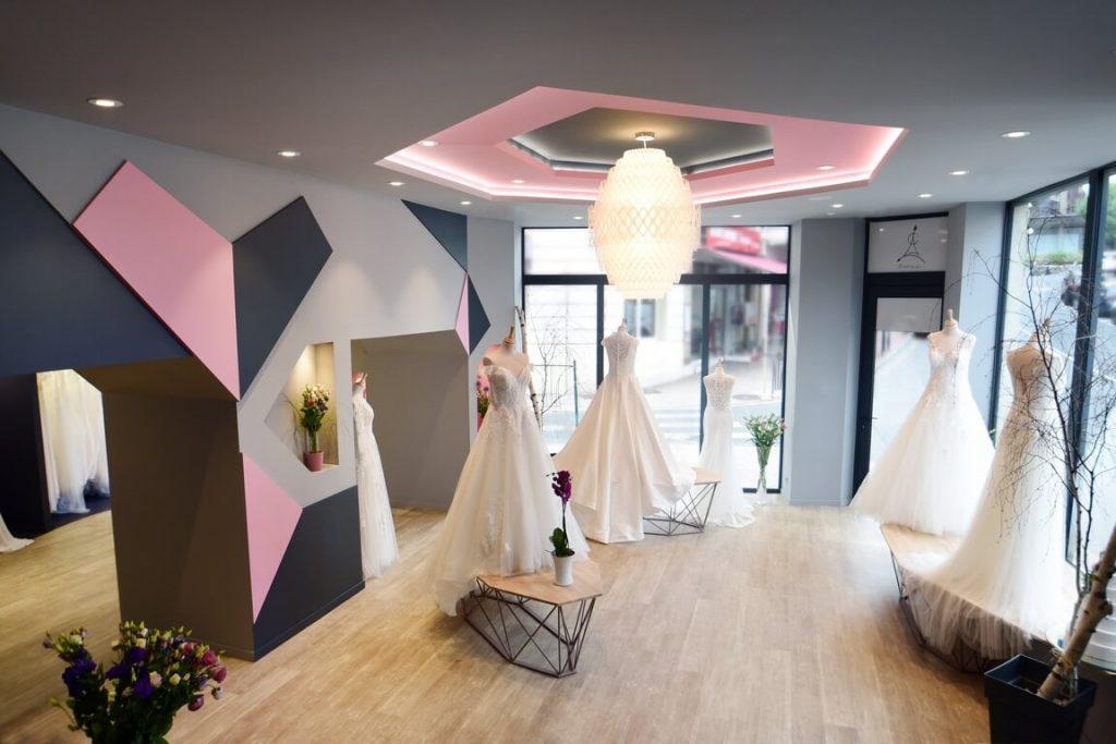Architecture d'intérieur d'une boutique à Thonon